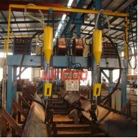 Buy cheap Automatic Steel Structure gantry type Welding Machine for H Beam/ Steel from wholesalers