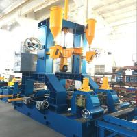 Buy cheap High Efficiency H-Beam Assembly and Welding with Straightening Combination from wholesalers