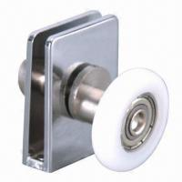 Quality New design glass door/shower room roller, made of ABS, brass, zinc-alloy and stainless steel for sale