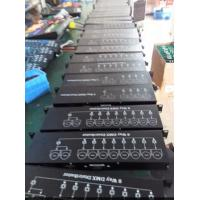 Quality 8 Way DMX512 Stage Lighting Controller Distributor Materials Iron AC90V - 240V for sale
