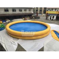 Quality Round Baby Kids Safety Portable Water Pool With Logo Printing for sale