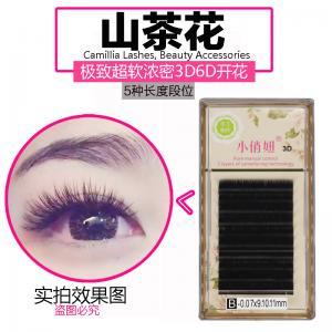 4c2201a0ca1 Professional Mink Semi Permanent Eyelashes , 3D Individual Eyelash  Extensions