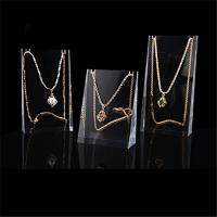 Quality Attractive Luxury Acrylic Counter Top Jewelry Display Sets Easy Clean for sale