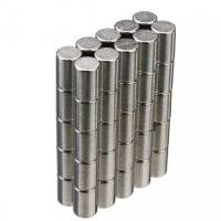 Quality Neodymium Magnets Cylinder shape Permanent Neodymium Magnets By Strong Neodymium Iron Boron for sale
