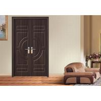 Quality PVC Coated Interior MDF Wood Doors 30'' X 78'' Max Width 1100mm Apartment for sale