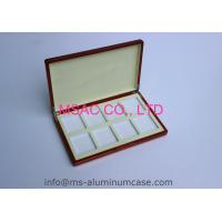 Quality Empty Aluminum Poker Chip Case Custom Poker Chip Display Case 389 X 200 X 69mm for sale