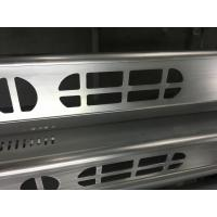 Buy cheap Brush Anodized aluminum extruded shapes / Aluminum Extrusion Profiles for Electronics from wholesalers