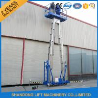 Quality 14m High Rise Window Cleaning Lift System , Aerial Wok Hydraulic Work Platform Lift for sale