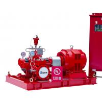 Quality Horizontal Split Case Fire Pump With Electric Motor Driven Water Supply for sale
