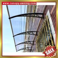 China great China outdoor house window door polycarbonate diy pc awning canopy canopies cover shelter kits manufacturers on sale