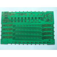 China Green Automotive FM Radio RF Circuit Board , 6 Layers Perforated High Frequency PCB Board on sale