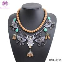 Quality Lady exaggerated fashion drop necklace for sale