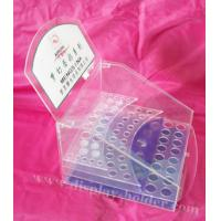 Quality Clear Countertop Acrylic Display Case for Cosmetics for sale