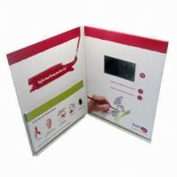 Quality Magnetic switch LCD screen Video Greeting Card for Precious Mothers