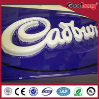 Quality Acrylic outdoor advertising luminous LED sign board for sale