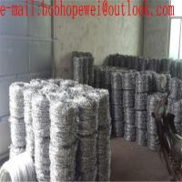 China cost of a roll of barbed wire/barbed wire fence brackets/barbed wire frame/single strand barbed wire/buy barb wire fence on sale