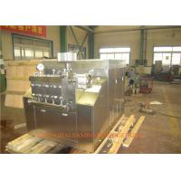 Quality Pneumatic control system Juice  Homogenizer Processing Line Type UHT Plant for sale