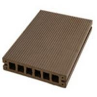Quality Coffee Engineered Flooring WPC Outdoor Anti-Slip And Water-Proof for sale