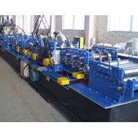 Quality Galvanized Steel CZ Purlin Roll Forming Machine Fully Automatic High Speed for sale