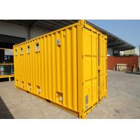Quality Insulated Cargo ISO Modified Shipping Containers Garage For Public Washroom for sale