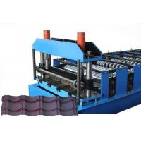 Quality CE Glazed Tile Sheet Metal Roll Forming Machines , Roofing Sheet Making Machine for sale