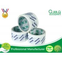 Quality Strong Adhesive BOPP Packing Tape , Transparent Packing Tape For Gift Decoration for sale
