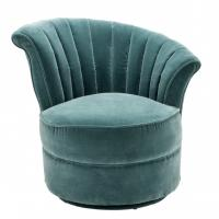 Quality modern classic velvet fabric singe lounge chairs for luxury wedding furniture for sale
