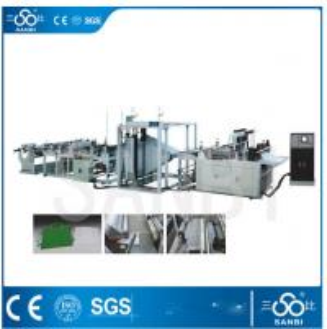 China Polythene Non woven Bag making machine vertically / horizontally sealing on sale