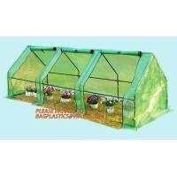 Quality Polycarbonate strong garden greenhouse double-door green house,NEW WALK IN GREENHOUSE GARDENING SEEDS PROPOGATING 143cm* for sale