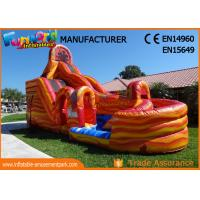 Quality Waterproof Giant Outdoor Inflatable Hurricane Water Slide With Digital Printing for sale
