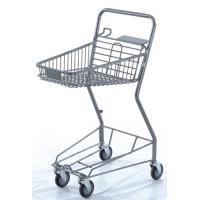 Quality Commercial Shopping Carts Grocery Store Baskets Bottom Tray 575×470×955 mm for sale