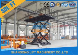 Quality 3T 6M Home Garage Lift Hydraulic Car Lift For Basement Scissor Car Parking Lift for sale