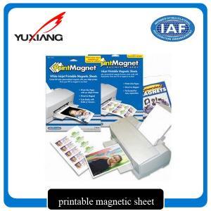 Quality Premium Inkjet Printable Flexible Magnetic Sheet Environmental Friendly for sale