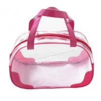Quality PVC Transparent Clear Plastic Pouch Travel Makeup Toiletry Zipper Cosmetic Bag for sale