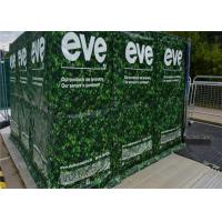 Quality Temporary Noise Fence Weather Resistant non-flammable layer added for sale