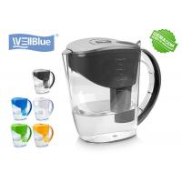 Quality Alkaline Classic Water Pitcher PP Plastic Type 2L Filtration Capacity With PH 8-10 for sale