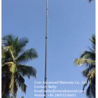 Buy cheap High stiffness carbon fiber telescopic pole for water fed pole, surveying pole, from wholesalers