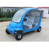 Quality 4 Passengers Electric Car Golf Cart , 4 Wheels Tourist Small Electric Cars for sale