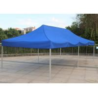Quality Blue 3x6 Pop Up Gazebo Canopy Screen Printing Easy Carry For Market Advertising for sale