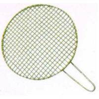 China Welding Edge Folded Square Ceramic Barbecue Grills With Zincification Cotton Ginning Net on sale