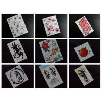 Quality Fake tattoo, temporary tattoo, flower tattoo for sale