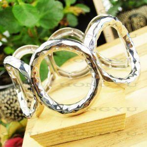 Quality Fashion Jewelry New Style Alloy Bangle/Bracelet Irregular Shapeljh0020 for sale