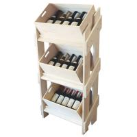 Quality 18 / 25mm MDF Solid wooden Display Stands Fire Proof Paint , Shoe Displays for sale