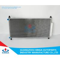 Quality Aluminum Honda Accord Condenser / Heat Transfer Condenser thickness 16mm for sale