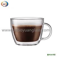 Buy cheap Glass double wall contemporary mugs from Wholesalers