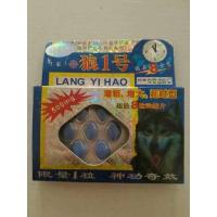 Quality Lang Yi Hao Herbal Sex Enhancement Pills For Males Wolf No.1 Powerful Strong for sale