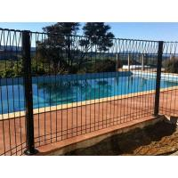 BRC fence is used beside the swimming pool to prevent people from falling.