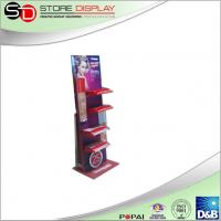 Quality rotating display turntable stand cosmetic point of sale display for advertising for sale