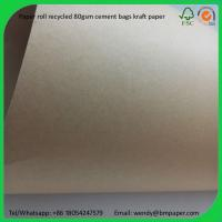 Quality BMPAPER Corrugating Paper Carton Paper Linerboard for Packaging  for cement bags for sale