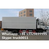 Quality 4x2 dongfeng 8 ton to 15 ton refrigerated van, hot sale best price Cummins 170hp dongfeng brand refrigerated truck for sale